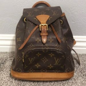 LOUIS VUITTON MONOGRAM MINI BACKPACK MONTSOURIS